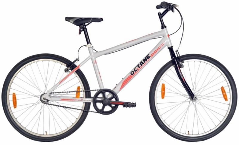 Hero Octane Parkour 26T SPAR26GYBK01 Road Cycle(Grey, Black)