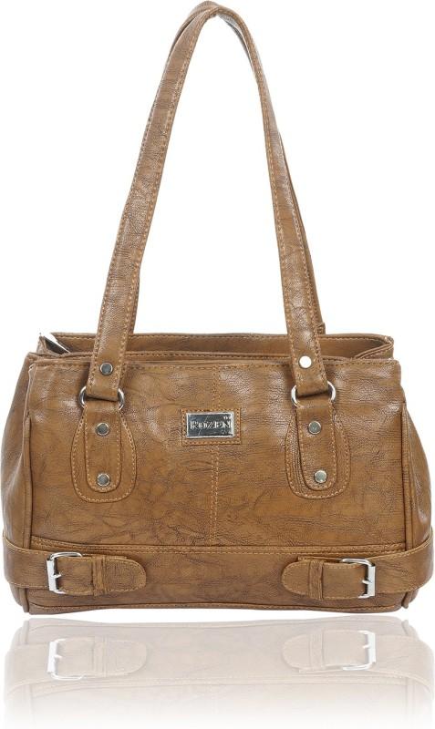 Rozen Women Brown Shoulder Bag