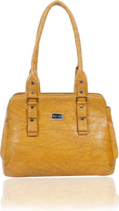 Rozen Women Yellow Shoulder Bag