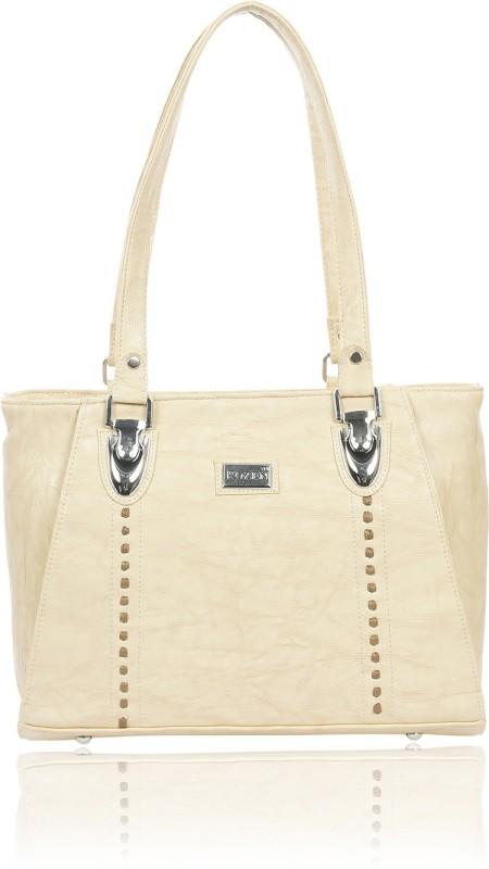 Rozen Women White Shoulder Bag