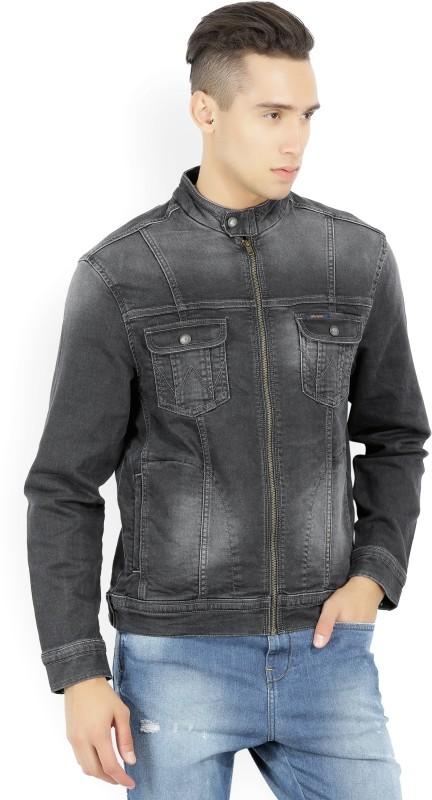 Wrangler Full Sleeve Solid Men's Jacket