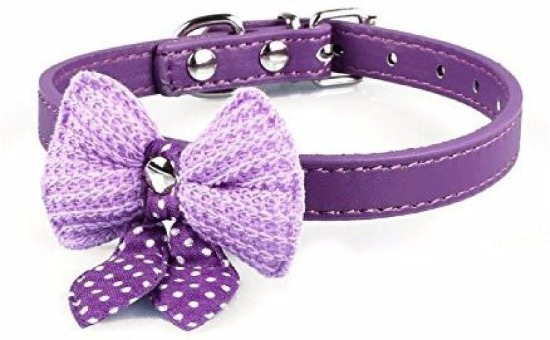 Futaba Embellished Dog Collar Charm(Purple, Butterfly)