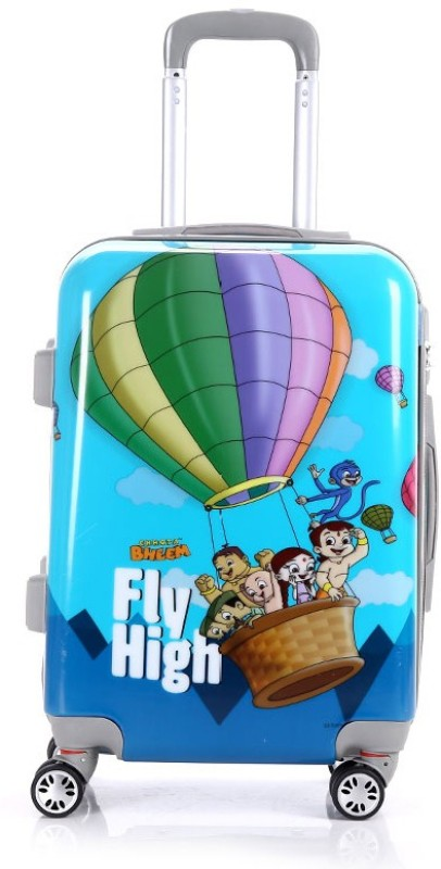 Fortune Chhota Bheem Fly High set of 20 Inch Luggage trolley Bag Cabin Luggage - 20 inch(Multicolor)