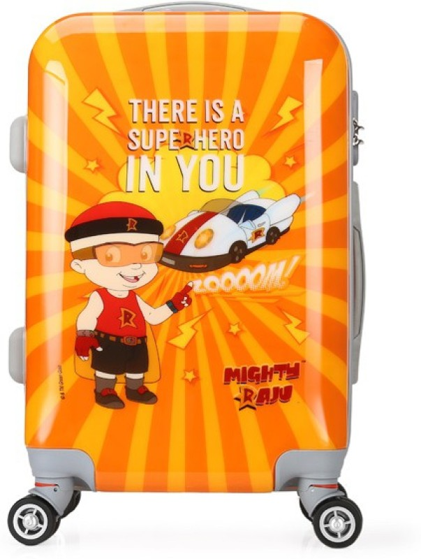 Fortune Chhota Bheem Super Hero In You set of 20 Inch Luggage trolley Bag Cabin Luggage - 20 inch(Multicolor)