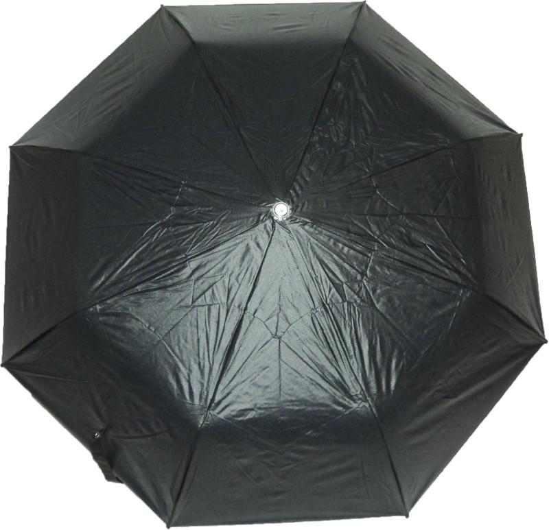 K.C Paul RAJ 3 FOLD Umbrella(Black)