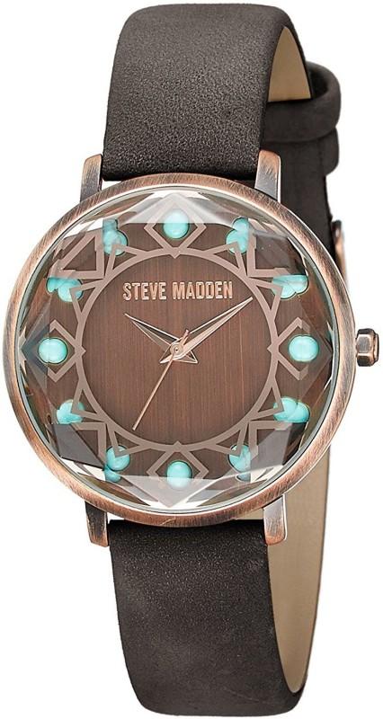 Steve Madden SMW058AQ-BR SMW058 Women's Watch