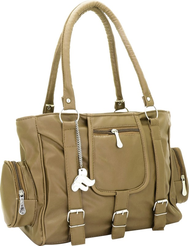 Lady bar Women Tan Shoulder Bag