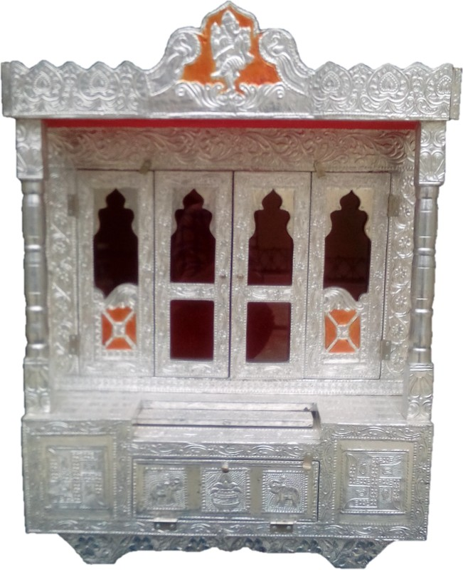 Dinesh Handicraft Aluminium Home Temple(Height: 58 cm)