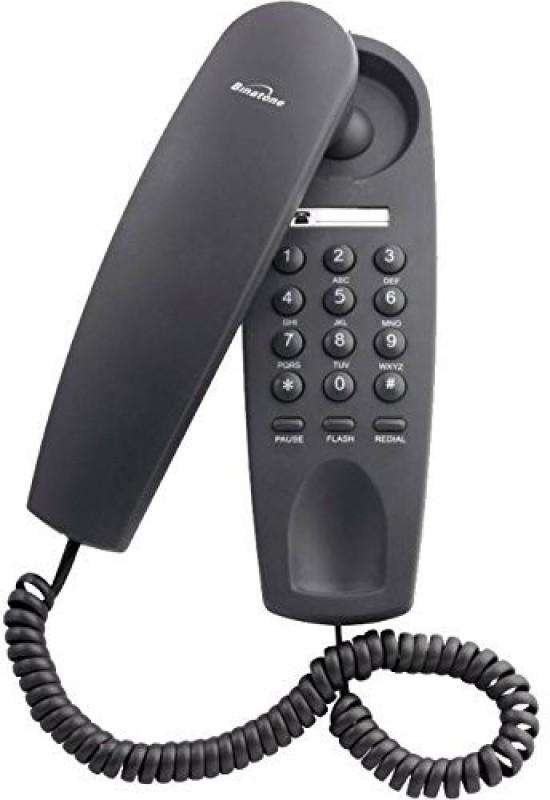 Binatone BT_T1 Corded Landline Phone(Black, White)