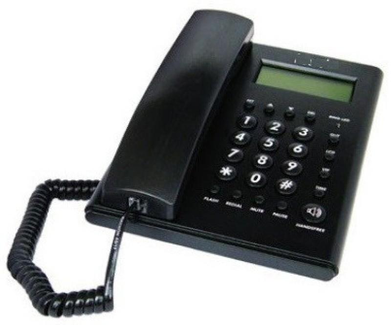 Magic BT-C51 Corded Landline Phone(Black & White)