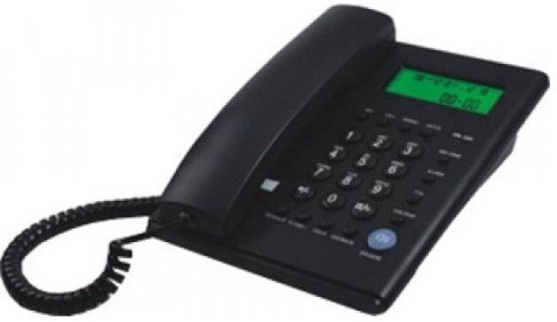 Magic BT-M53 Corded Landline Phone(Black & White)