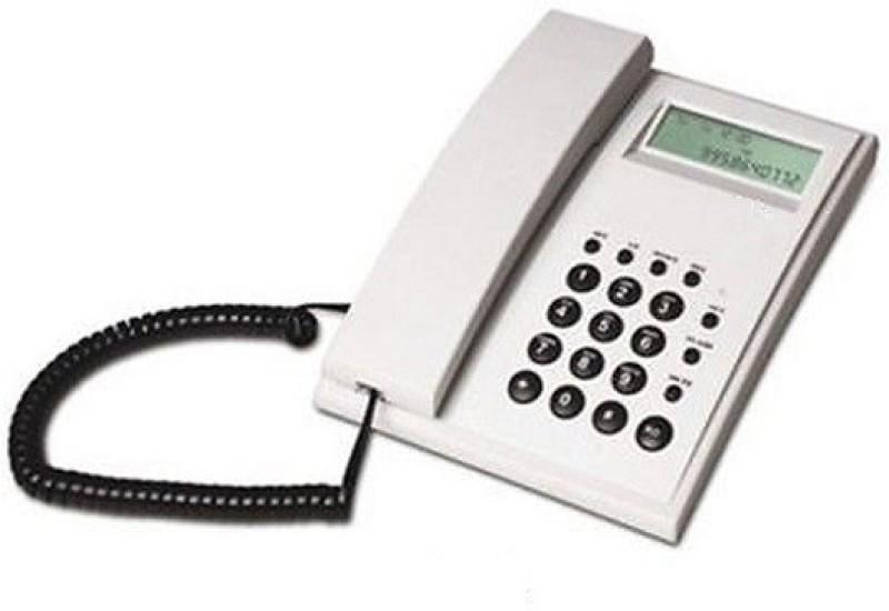 Magic BT-M51W Corded Landline Phone(White)
