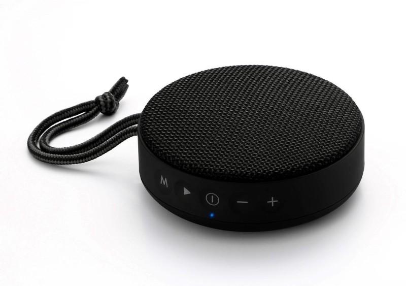 Portronics POR- 754 Sound Bun 6W Bluetooth Speaker with Mic, USB Port, Indicator Light, Micro SD Card Slot, AUX Mode (Black) 6 W Bluetooth Speaker(Black, Stereo Channel)