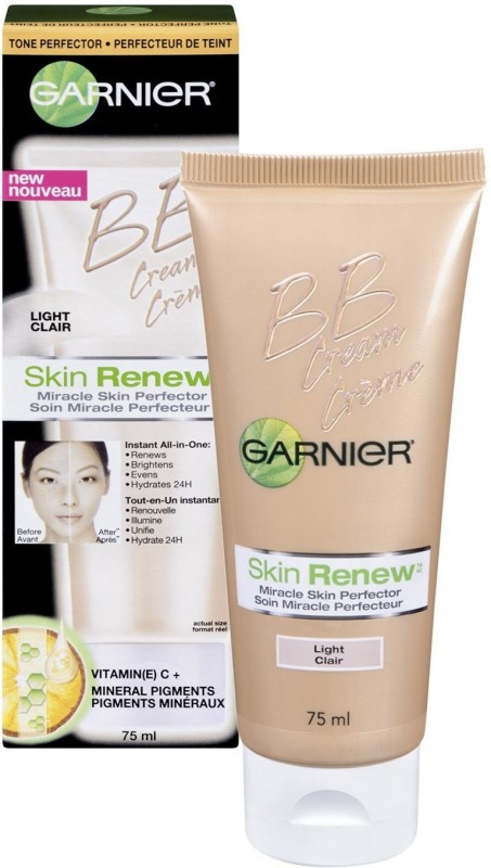 Garnier Skin Renew Miracle Skin Perfector Bb Cream, Normal To Dry Skin, Fair/Light - SPF 15 PA+(75 ml)