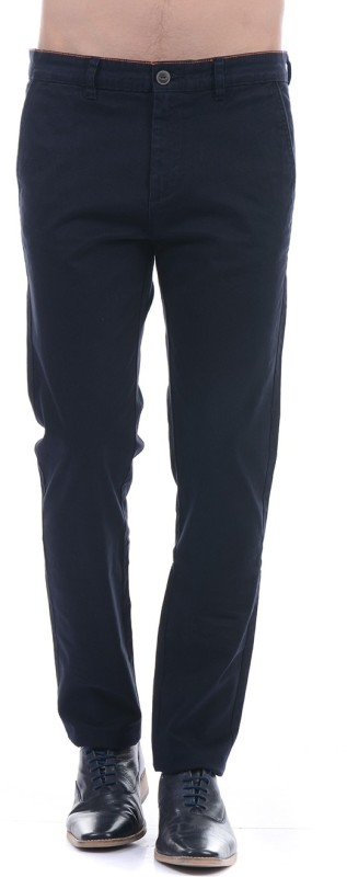 Pepe Jeans Slim Fit Men Dark Blue Trousers