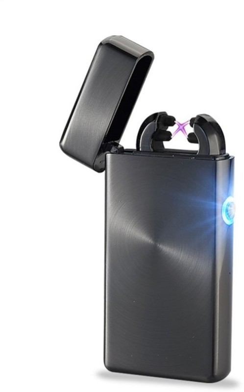 Arc Lighter Dual Arc Electric USB - FB Pocket Lighter(Black)