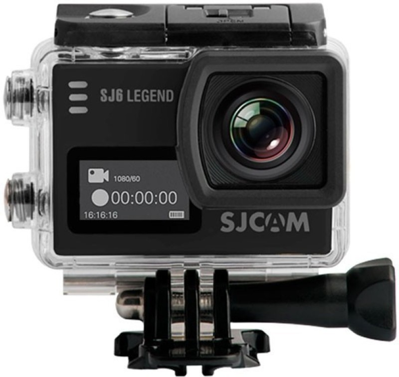 SJCAM SJ6 LEGEND 2 LCD Touch Screen 28802160 4K 4K Sports & Action Camera(Black)