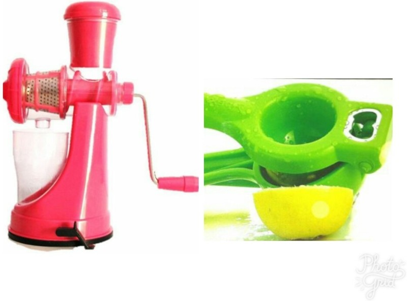 ABLE ABLE-JC032 Plastic Hand Juicer(Multicolor Pack of 2)