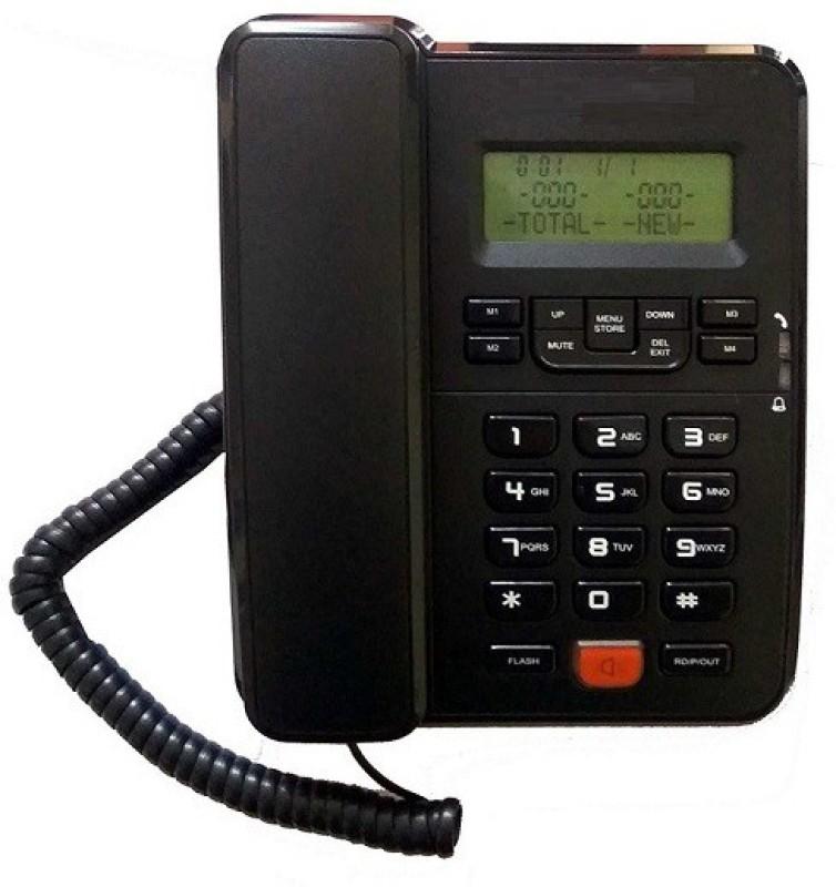 Magic BT-M57-7 Corded Landline Phone(Black)
