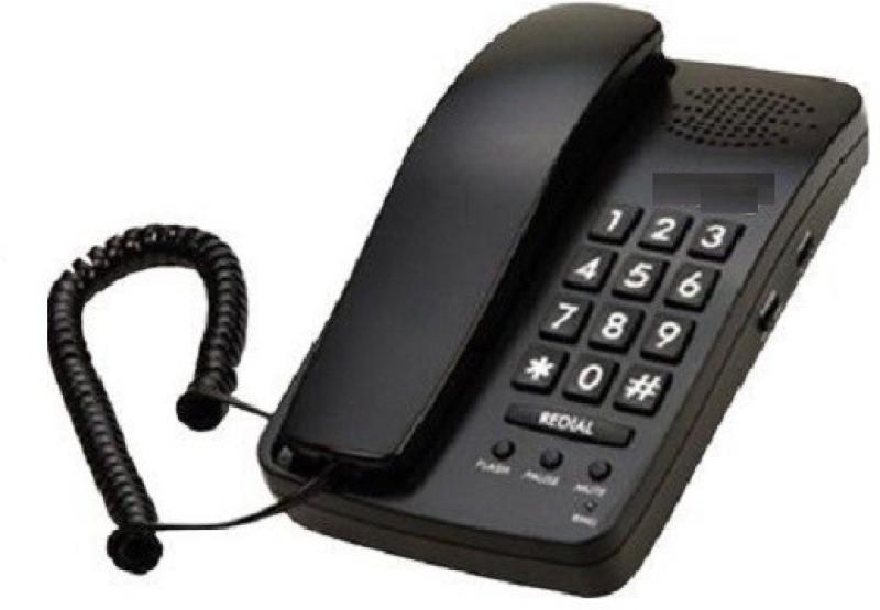 Magic BT-B15-8 Corded Landline Phone(Black)