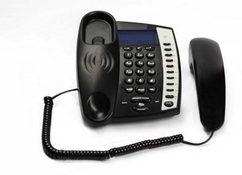 Magic BT-M60-B Corded Landline Phone(Black)