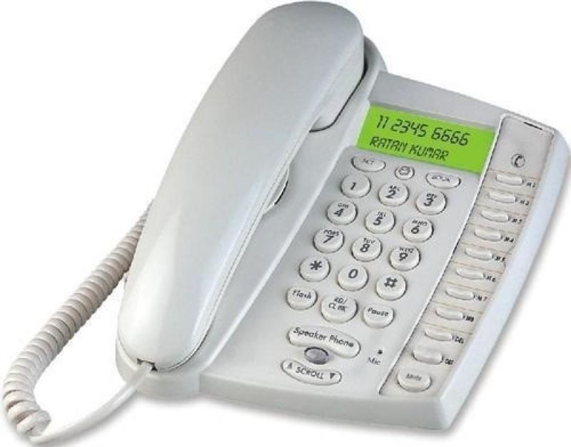 Magic BT-M60-W Corded Landline Phone(White)