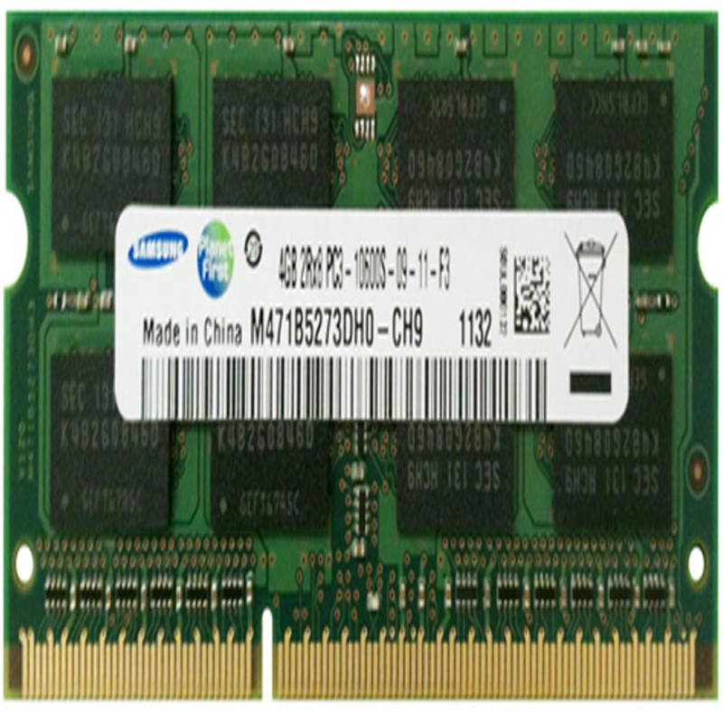 Samsung DDR3 1333MHZ DDR3 4 GB (Dual Channel) Laptop (M471B5273DH0)