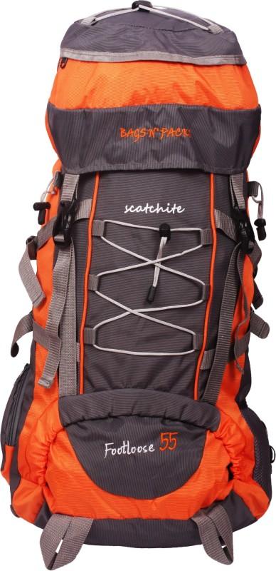 SCATCHITE R02-GREY-RED Rucksack - 55 L(Multicolor)