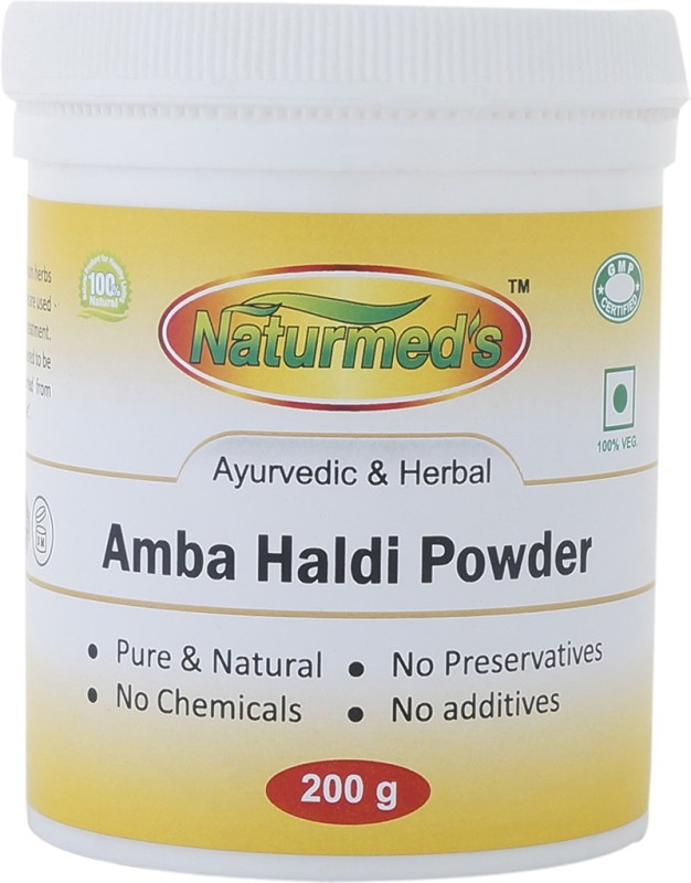 natumed's Naturmed's Amba Haldi Powder 200 Grams Jar(200 g)