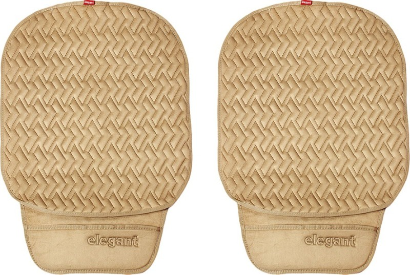 Elegant Cloth Seating Pad For Universal For Car Universal For Car(Driver, Co-Driver Beige)