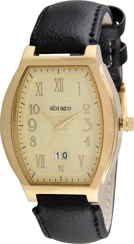 abrazo AB-WT-LD-SQR-DT-GD Analog Watch - For Men