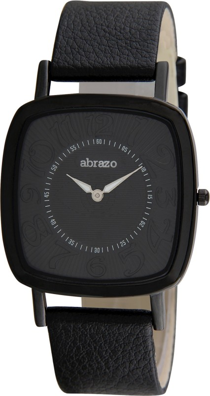 abrazo AB-WT-MN-SQR-SOLID-BL Analog Watch - For Men