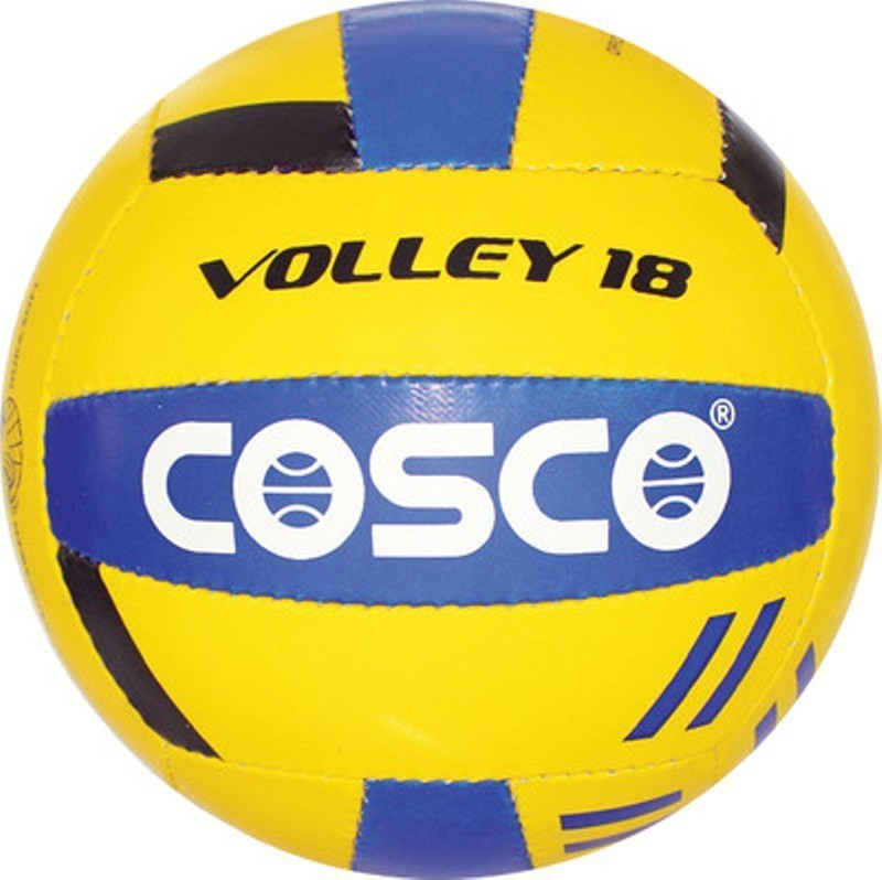 Cosco VOLLEY 18 Volleyball - Size: 4(Pack of 1, Multicolor)