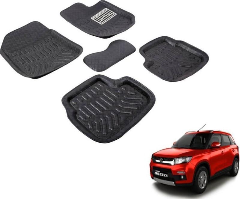A K Online Services Plastic Standard Mat For Maruti Suzuki Vitara Brezza(Black)