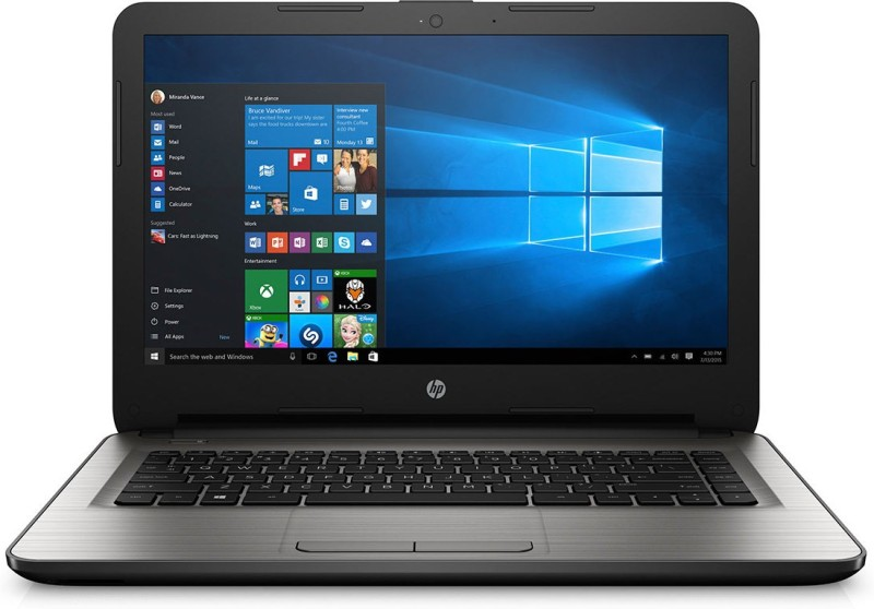 HP AM519tu Laptop AM519tu Intel Core i3 4 GB RAM Windows 10 Home