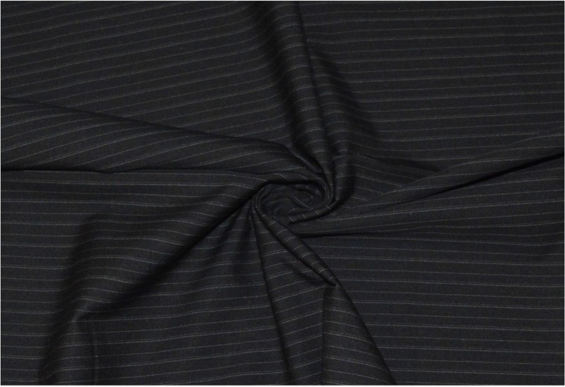 V WALKERS Lycra Striped Trouser Fabric(Un-stitched)