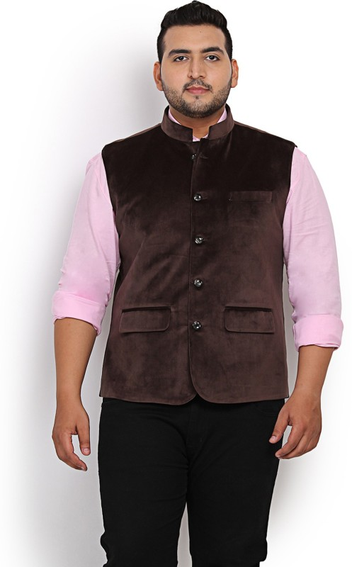 John Pride Sleeveless Solid Men's Nehru Jacket