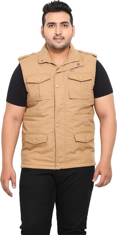 John Pride Sleeveless Solid Mens Casual Jacket
