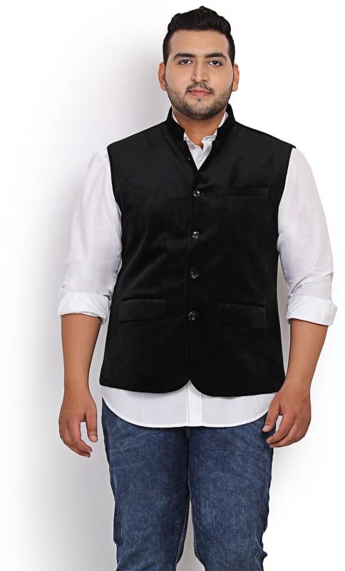John Pride Sleeveless Solid Mens Nehru Jacket