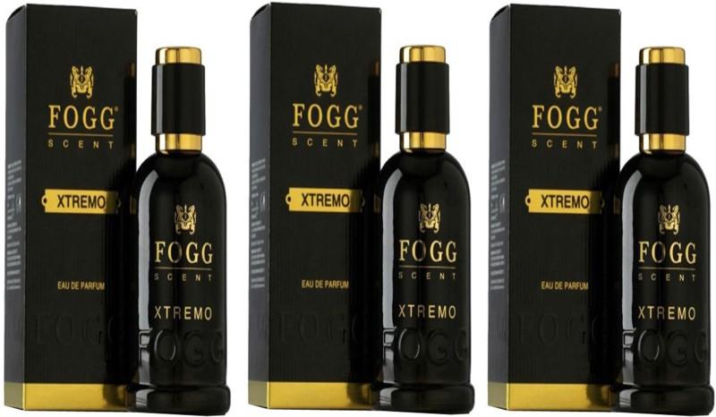Fogg PACK OF 3 FOGG XTREMO PERFUME 90 ML Perfume  -  90 ml(For Men)