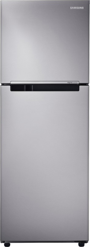 Samsung 251 L Frost Free Double Door Refrigerator(Light Doi Metal RT28K3082S8)