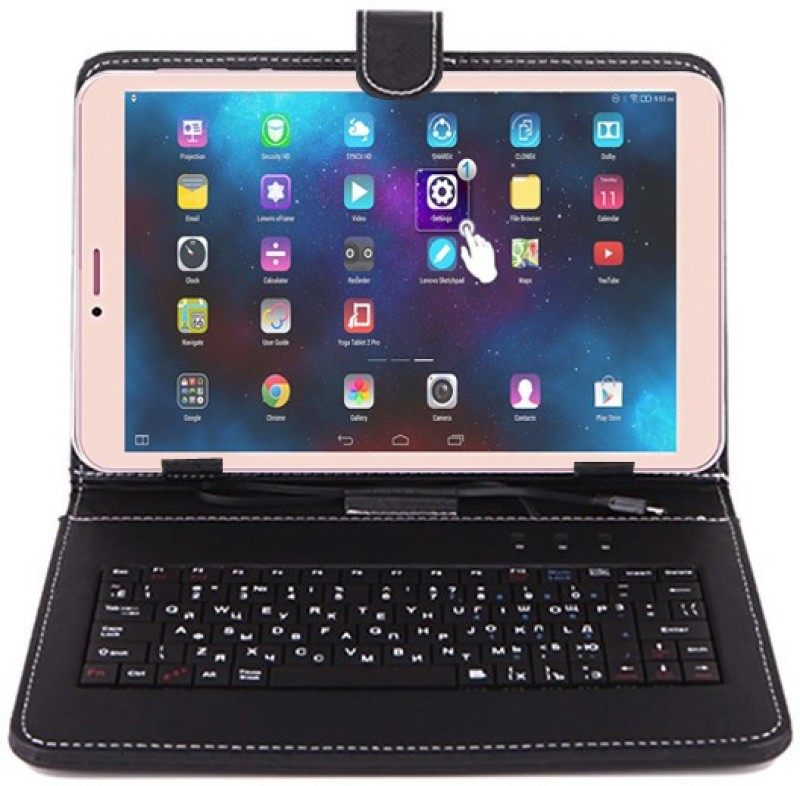 I Kall N1 With Keyboard 8 GB 8 inch with Wi-Fi+4G(Gold)