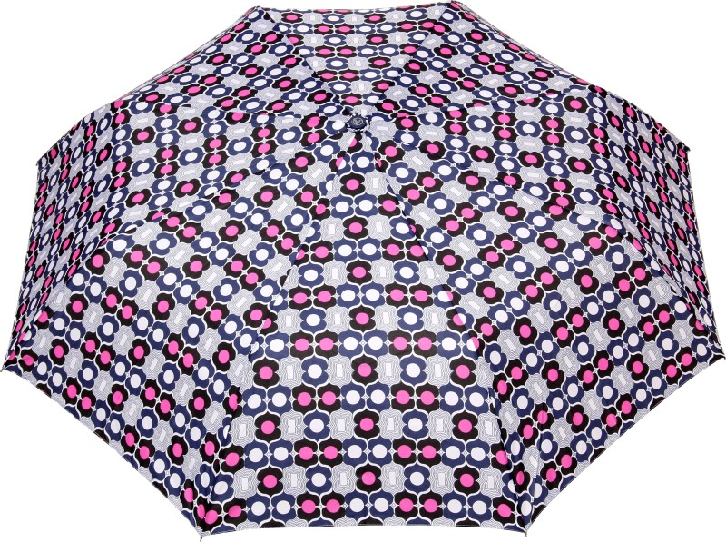 FabSeasons Fancy Printed Umbrella for Rains and All Seasons, UM29navy Umbrella(Multicolor)