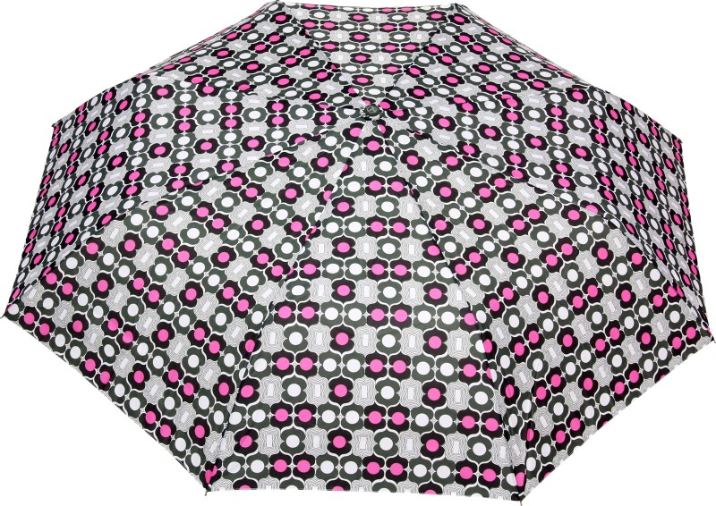 FabSeasons Fancy Printed Umbrella for Rains and All Seasons, UM29green Umbrella(Multicolor)