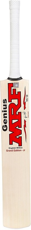 Mrf genius grand virat kohli signed Poplar Willow Cricket Bat(Long Handle, 1 kg)