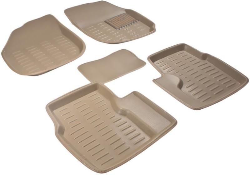A K Online Services Plastic Standard Mat For Maruti Suzuki Vitara Brezza(Beige)