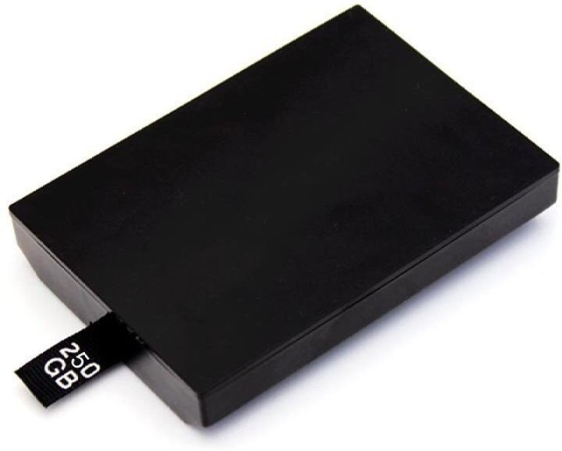 TCOS Tech Xbox 360 Slim & E 250 GB External Hard Disk Drive(Black) image