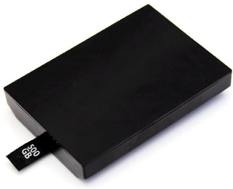 TCOS Tech Xbox 360 Slim & E 500 GB External Hard Disk Drive(Black) image
