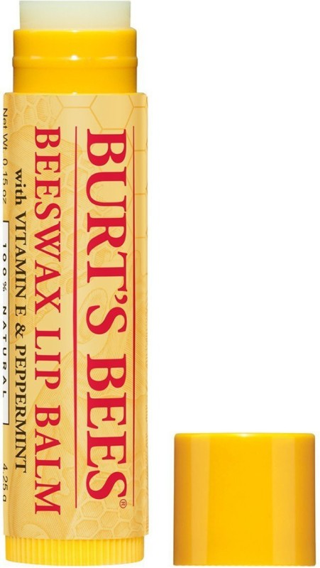 Burts Bees Beeswax Lip Balm With Vitamin E & Peppermint, 4.25 grams , Peppermint(4.25 g)
