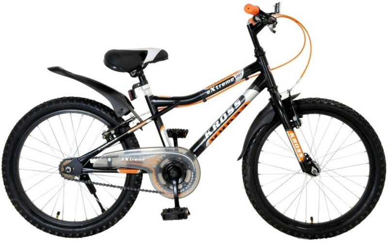 Kross Extreme 20inches Single Speed Kids Bike Matt Black 401830 Mountain Cycle(Multicolor)
